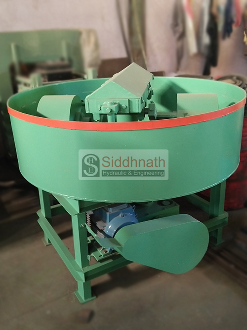 Pan Mixer Roller Type
